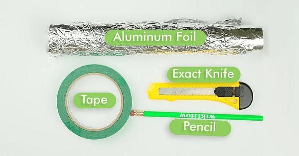 Chuẩn bị đầy đủ các dụng cụ để làm bút cảm ứng