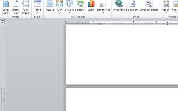 Click chuột chọn Insert để thực hiện chèn hình ảnh vào Word
