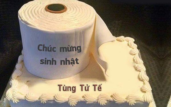 Lại là một chiếc bánh sinh nhật siêu bựa thật hài hước nhưng cũng đáng yêu