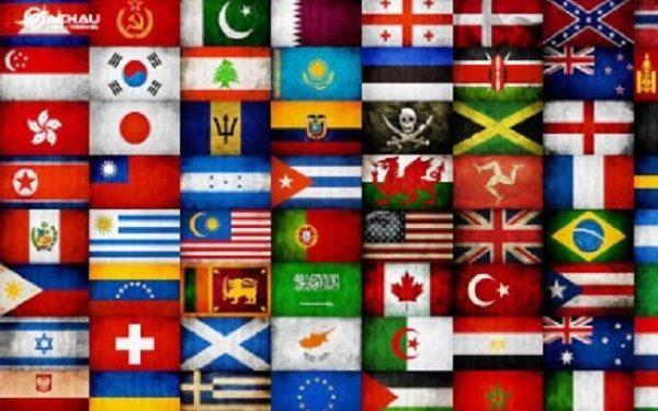Tìm hiểu thông điệp ý nghĩa 6 lá cờ các nước trên thế giới đặc biệt nhất