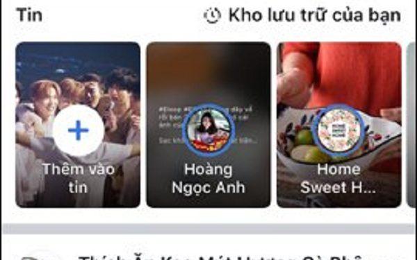 Bạn hãy truy cập vào Facebook và click vào 3 dấu gạch ngang ở giao diện