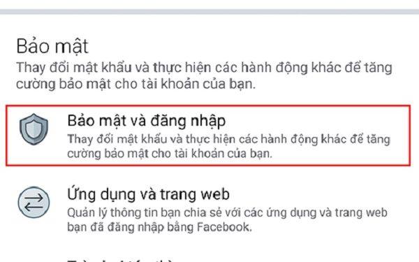 Cài đặt bảo vệ 2 lớp để bảo mật facebook