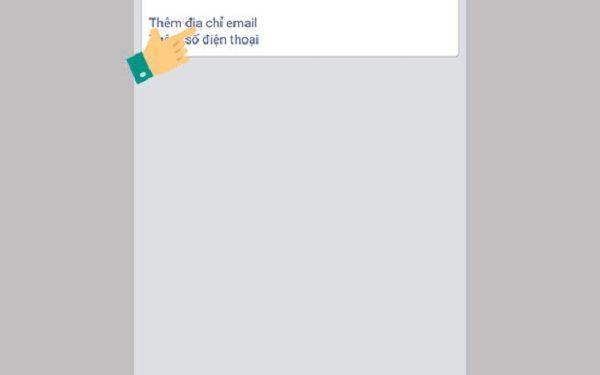 Thêm địa chỉ email