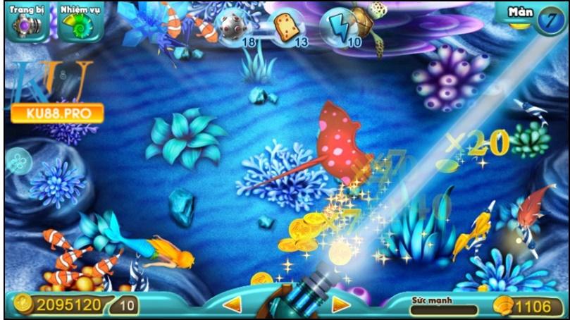 Game bắn cá Bingo Club là 1 tựa game online ăn tiền thật